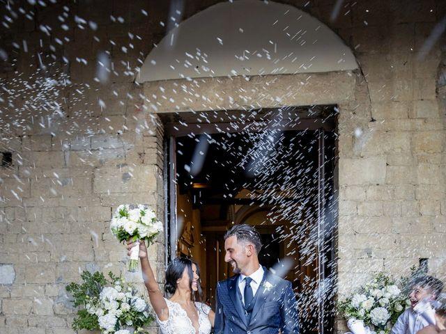 Il matrimonio di Alessio e Beatrice a Montespertoli, Firenze 35