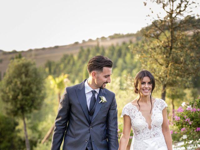 Il matrimonio di Alessio e Beatrice a Montespertoli, Firenze 50