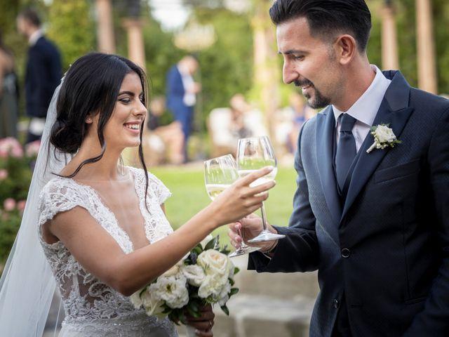 Il matrimonio di Alessio e Beatrice a Montespertoli, Firenze 52
