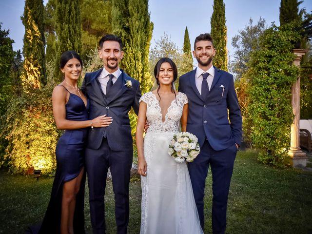 Il matrimonio di Alessio e Beatrice a Montespertoli, Firenze 54