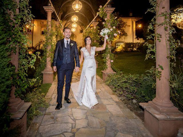 Il matrimonio di Alessio e Beatrice a Montespertoli, Firenze 64