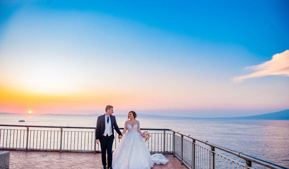 Il matrimonio di Angela e Claudio a Pompei, Napoli