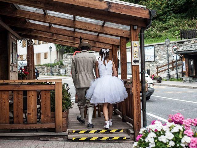 Il matrimonio di Christian e Arianna a Valtournenche, Aosta 23