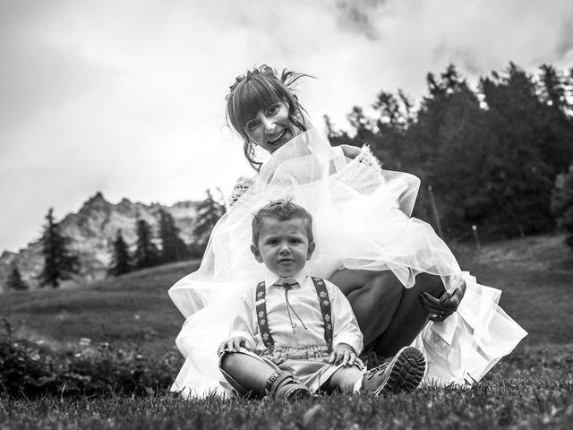 Il matrimonio di Christian e Arianna a Valtournenche, Aosta 72