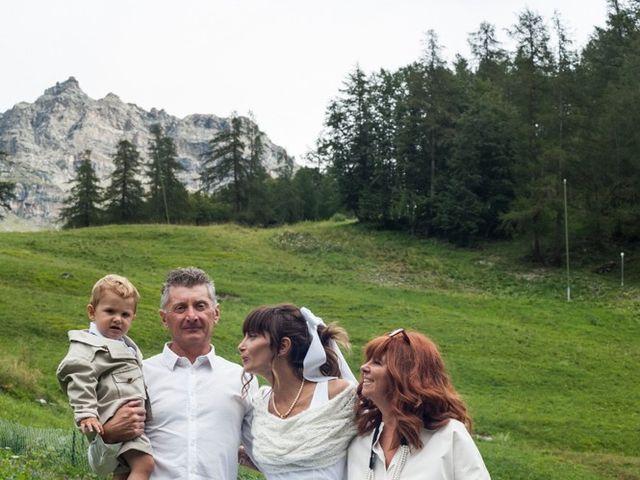 Il matrimonio di Christian e Arianna a Valtournenche, Aosta 75