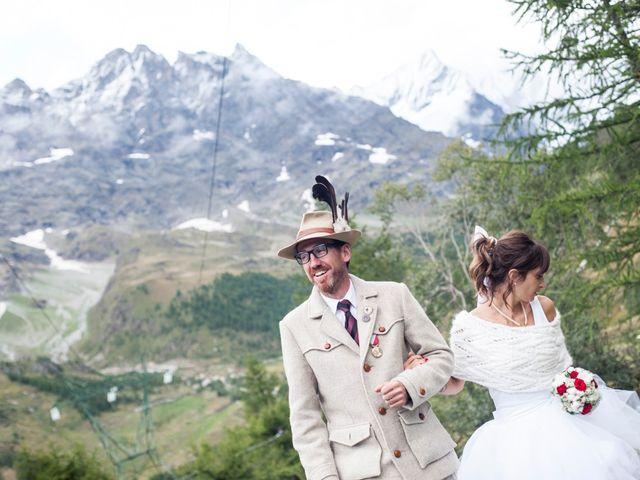 Il matrimonio di Christian e Arianna a Valtournenche, Aosta 82
