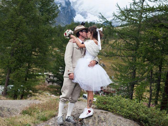 Il matrimonio di Christian e Arianna a Valtournenche, Aosta 85