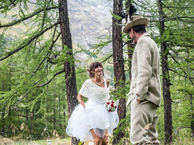 Il matrimonio di Christian e Arianna a Valtournenche, Aosta 88