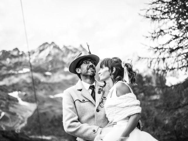 Il matrimonio di Christian e Arianna a Valtournenche, Aosta 102
