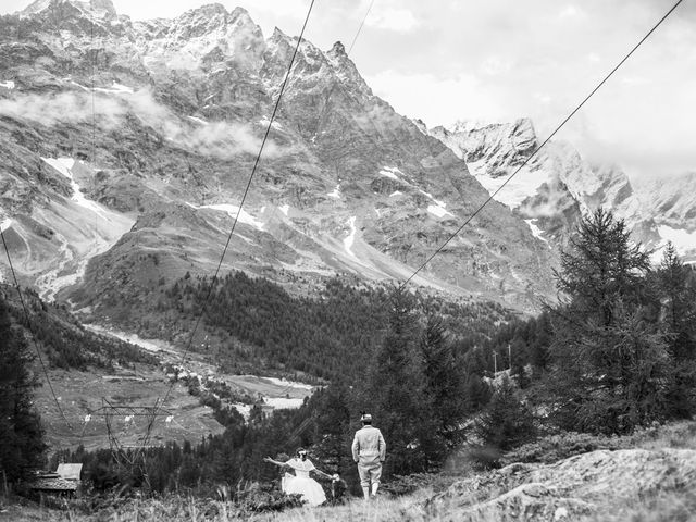 Il matrimonio di Christian e Arianna a Valtournenche, Aosta 104