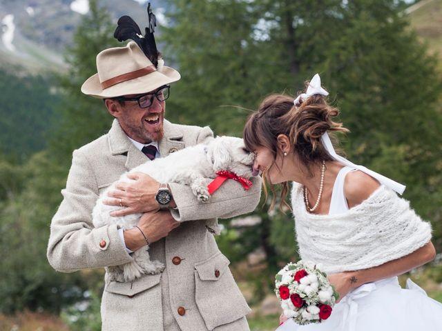 Il matrimonio di Christian e Arianna a Valtournenche, Aosta 105