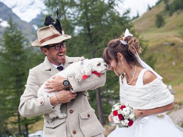 Il matrimonio di Christian e Arianna a Valtournenche, Aosta 106