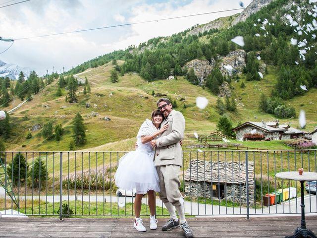 Il matrimonio di Christian e Arianna a Valtournenche, Aosta 115