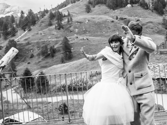 Il matrimonio di Christian e Arianna a Valtournenche, Aosta 116