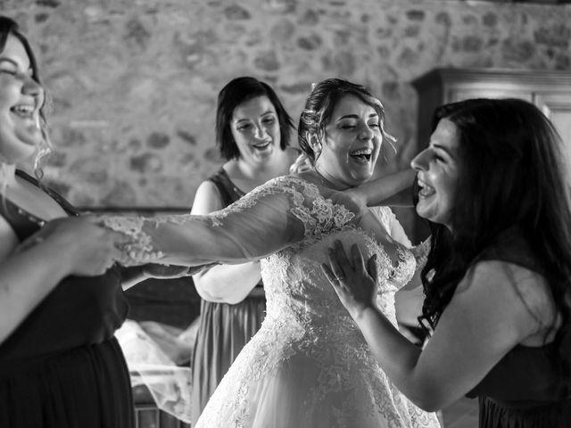 Il matrimonio di Giovanni e Loredana a Chiusdino, Siena 10