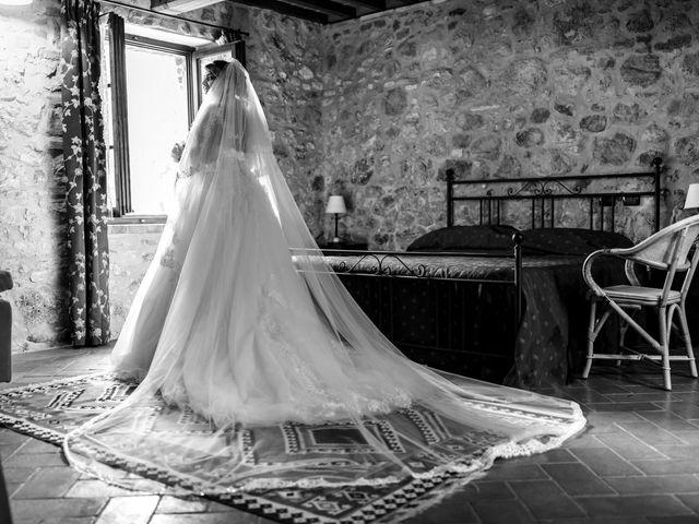 Il matrimonio di Giovanni e Loredana a Chiusdino, Siena 11