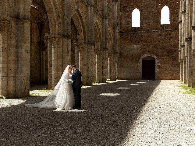 Il matrimonio di Giovanni e Loredana a Chiusdino, Siena 26