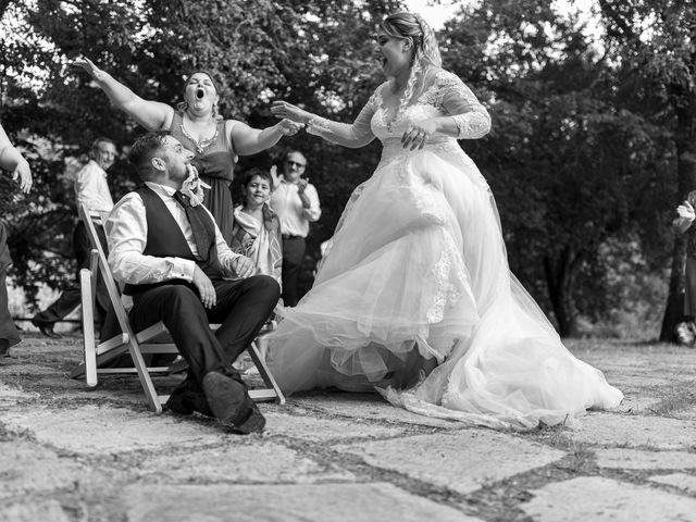 Il matrimonio di Giovanni e Loredana a Chiusdino, Siena 40