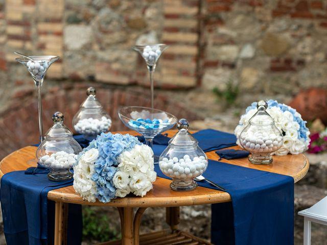 Il matrimonio di Giovanni e Loredana a Chiusdino, Siena 50