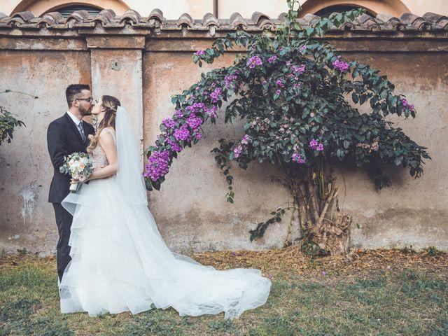 Il matrimonio di Alberto e Giulia a Roma, Roma 2