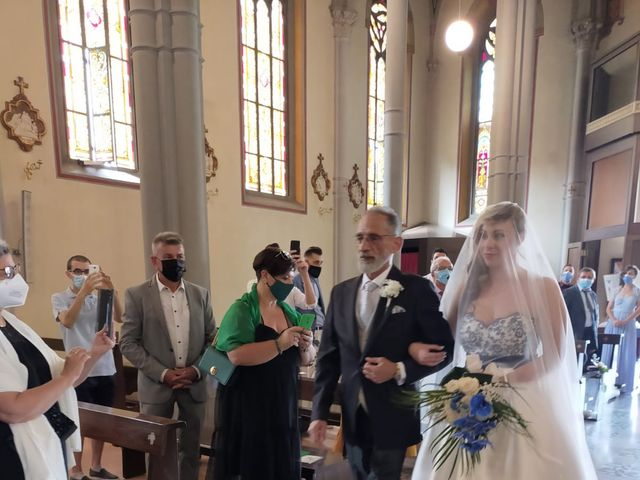 Il matrimonio di Nicola e Clarissa a Trezzo sull'Adda, Milano 1