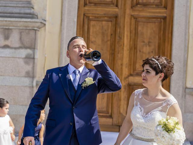 Il matrimonio di Lorenzo e Lucia a Gravellona Toce, Verbania 57
