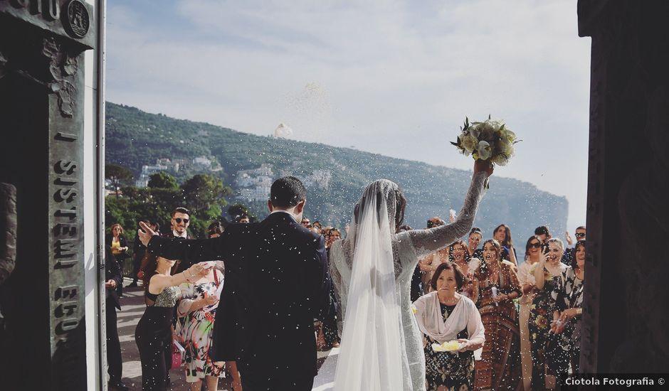 Il matrimonio di Vincenzo e Emanuela a Sorrento, Napoli