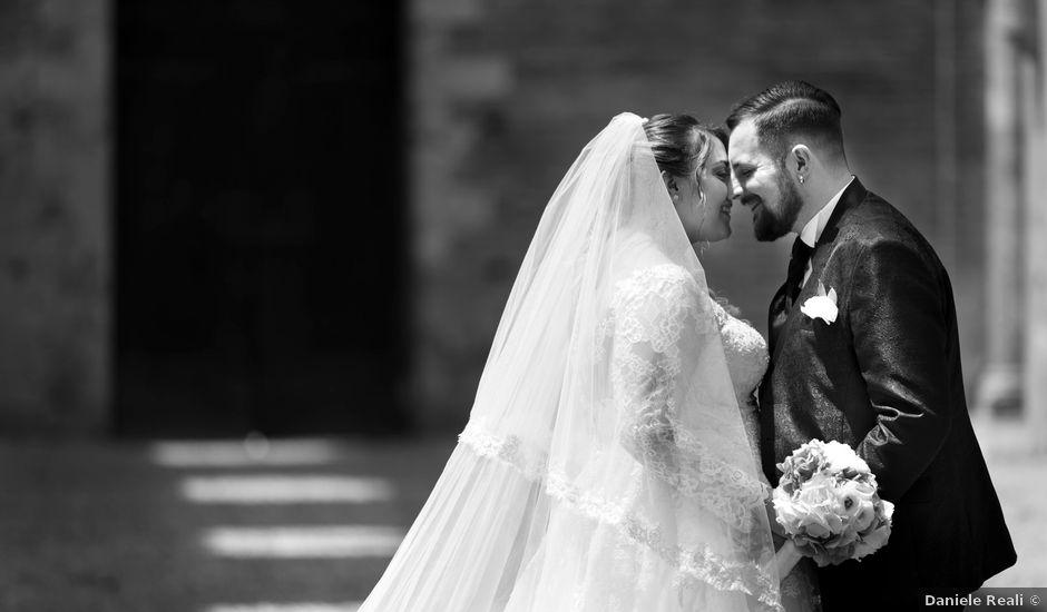 Il matrimonio di Giovanni e Loredana a Chiusdino, Siena