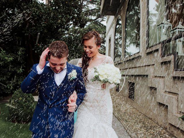 Il matrimonio di Davide e Yana a Lesmo, Monza e Brianza 25