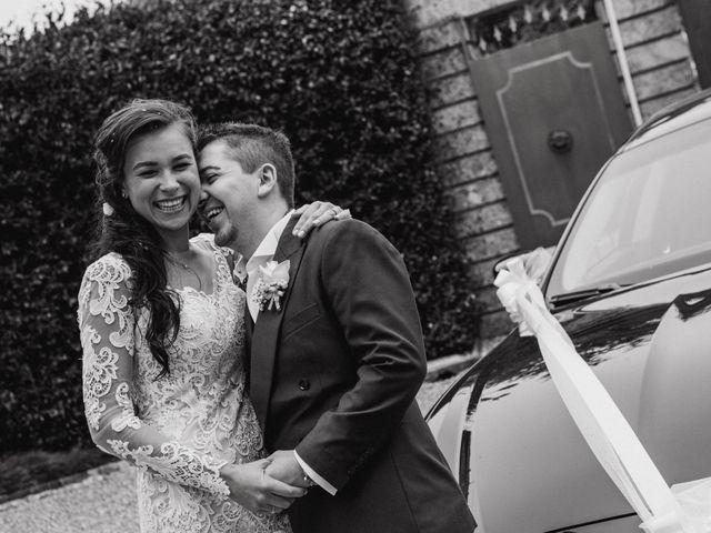 Il matrimonio di Davide e Yana a Lesmo, Monza e Brianza 26