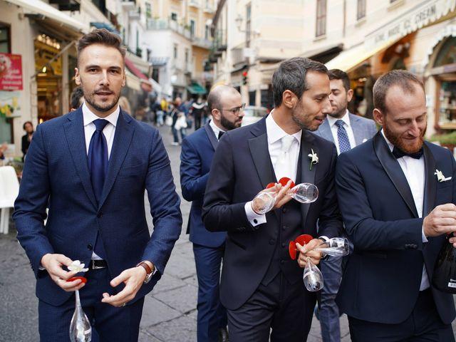 Il matrimonio di Ilaria e Donato a Amalfi, Salerno 16
