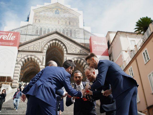 Il matrimonio di Ilaria e Donato a Amalfi, Salerno 17