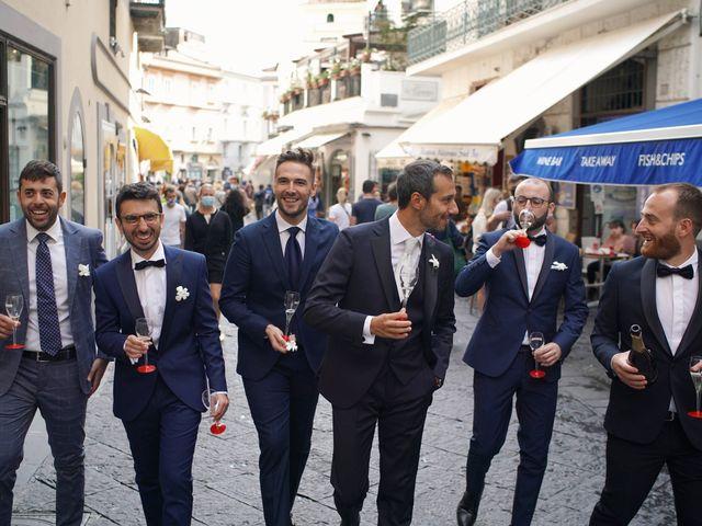 Il matrimonio di Ilaria e Donato a Amalfi, Salerno 18