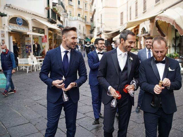 Il matrimonio di Ilaria e Donato a Amalfi, Salerno 21