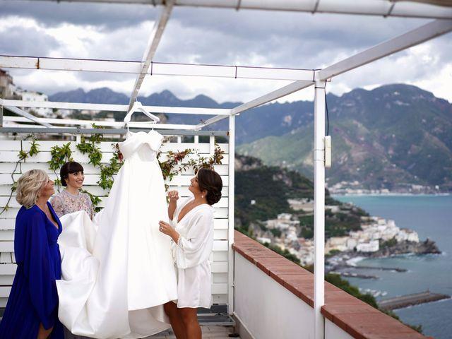 Il matrimonio di Ilaria e Donato a Amalfi, Salerno 25