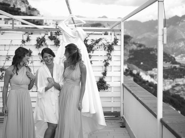 Il matrimonio di Ilaria e Donato a Amalfi, Salerno 28