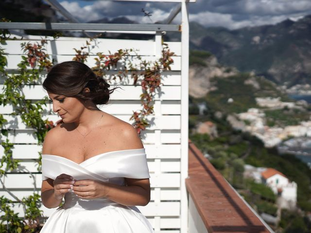 Il matrimonio di Ilaria e Donato a Amalfi, Salerno 34