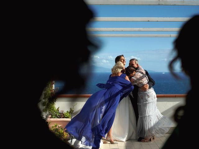Il matrimonio di Ilaria e Donato a Amalfi, Salerno 38