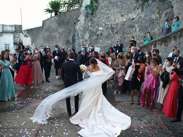 Il matrimonio di Ilaria e Donato a Amalfi, Salerno 47