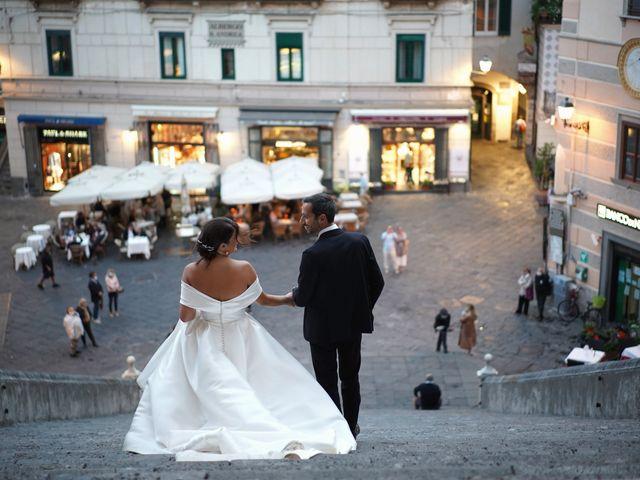 Il matrimonio di Ilaria e Donato a Amalfi, Salerno 54