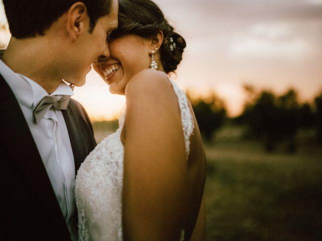 le nozze di Mariangela e Antonello