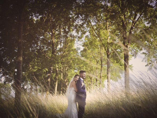 le nozze di Giada e Mattia