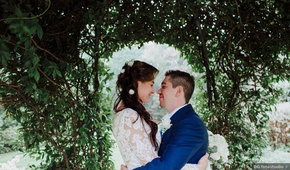 Il matrimonio di Davide e Yana a Lesmo, Monza e Brianza