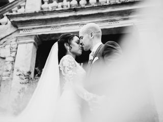 Le nozze di Kaley e Stefano