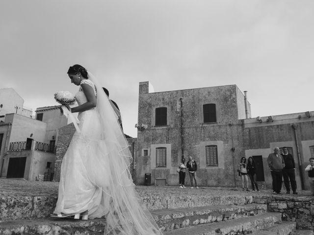 Il matrimonio di Giuseppe e Francesca a Erice, Trapani 23