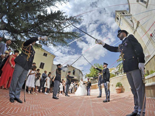Il matrimonio di Federico e Valentina a Perdasdefogu, Nuoro 181