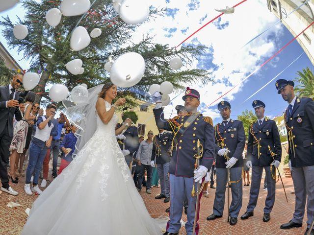 Il matrimonio di Federico e Valentina a Perdasdefogu, Nuoro 177