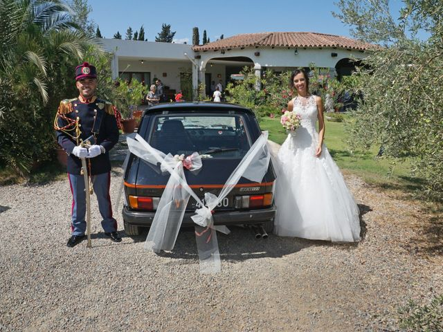 Il matrimonio di Federico e Valentina a Perdasdefogu, Nuoro 215