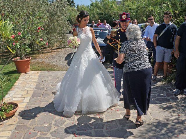 Il matrimonio di Federico e Valentina a Perdasdefogu, Nuoro 217