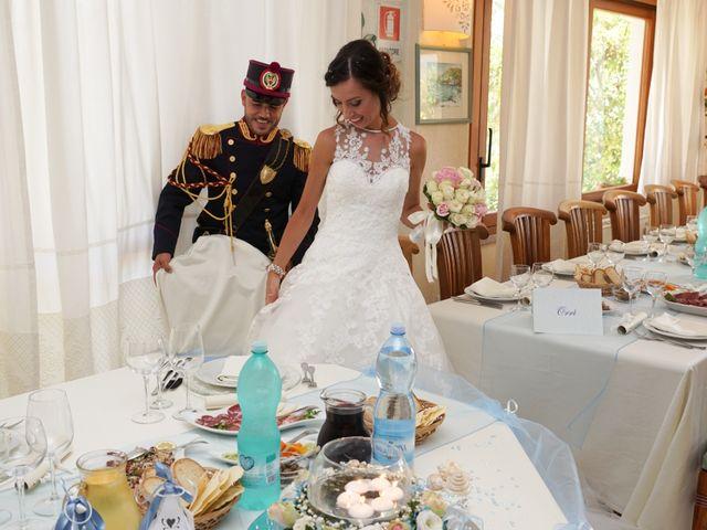 Il matrimonio di Federico e Valentina a Perdasdefogu, Nuoro 234